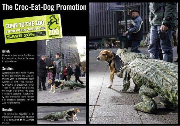Кампания для зоопарка в Германии